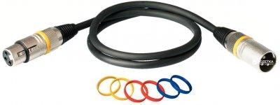 Мікрофонний кабель RockCable RCL30351 D7 1 м Black (RCL30351 D7)