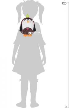 Рюкзак дошкільний Cool For School Penguin 25х20х11 см 1 л (CF86121)