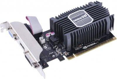 Видеокарта PCI-E 2GB GeForce GT730 (DDR3) Inno3D (N730-1SDV-E3BX)