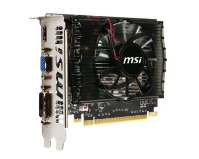 Видеокарта PCI-E 2Gb GeForce GT730 (DDR3) MSI (N730-2GD3V2)