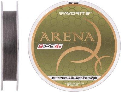Шнур Favorite Arena PE 4x 150 м # 0.3/0.09 мм 3 кг Серебристый (16931090)