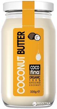 Кокосовое масло Cocofina из сладкой мякоти органическое 335 г (5060118260302)