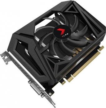 PNY PCI-Ex GeForce GTX 1660 XLR8 Gaming Overclocked Edition 6GB GDDR5 (192bit) (1530/8000) (HDMI, DVI, Displayрort) (VCG16606SFPPB-O)