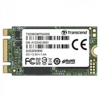 Накопитель SSD M.2 2242 256GB Transcend (TS256GMTS400S)