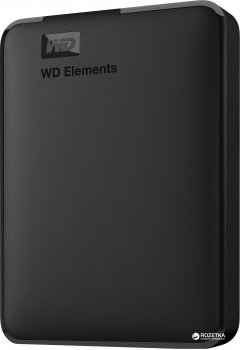 Жесткий диск Western Digital Elements 4TB WDBU6Y0040BBK-WESN 2.5 USB 3.0 External Black