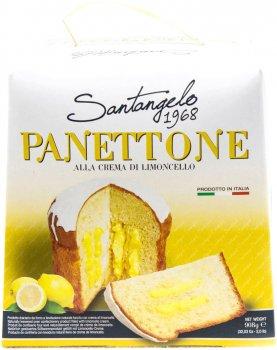 Кекс Santangelo Panettone Alla Crema Di Limoncello 908 г (8003896080172)
