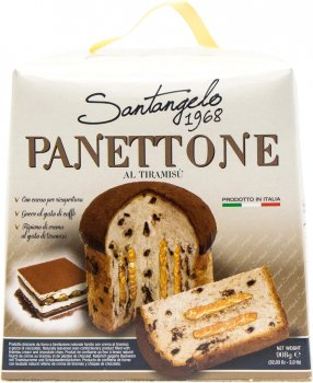 Кекс Santangelo Panettone Al Tiramisu 908 г (8003896013224)