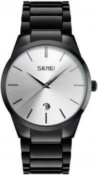 Мужские часы Skmei 9140 BK-Silver BOX (9140BOXBKS)