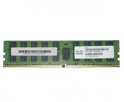 Оперативная память Cisco 16GB DDR4-2133-MHz RDIMM/PC4-17000/dual (UCS-MR-1X162RU-A) Refurbished