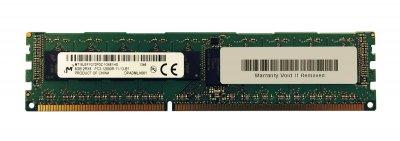 Оперативна пам'ять EMC DDR3-RAM 8GB PC3-12800R ECC 2R (MT18JSF1G72PDZ-1G6E1FG) Нове