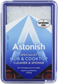 Спеціалізований засіб для очищення склокерамічних і скляних поверхонь, а також НВЧ-печей Astonish з губкою 250 г (5060060211018)