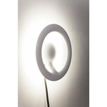 Бра Wall Light Clip Round White LED