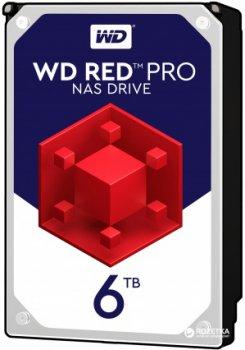 Жорсткий диск Western Digital Red Pro NAS 6TB 7200rpm 256MB WD6003FFBX 3.5 SATA III