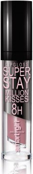 Блиск для губ BelorDesign Smart Girl Million Kisses суперстійкий 211 рожевий тауп 4,8 г (4810156045703)