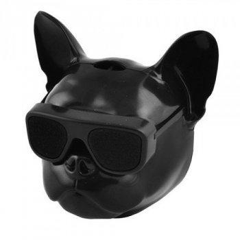 Портативна Bluetooth колонка AEROBULL DOG Head c функцією speakerphone, радіо , блютуз колонка, портативна акустика.