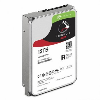 """Жорсткий диск 3.5"""" SATA 12TB Seagate IronWolf Pro NAS (ST12000NE0007)"""