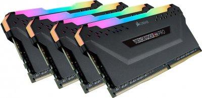 Оперативна пам'ять Corsair 32GB 3600MHz Vengeance RGB PRO CL18 (4x8GB) (CMW32GX4M4C3600C18)