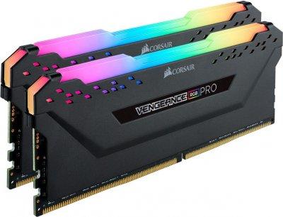 Оперативная память Corsair Vengeance RGB PRO 16GB [2x8GB 3600MHz DDR4 C18 DIMM (CMW16GX4M2Z3600C18)