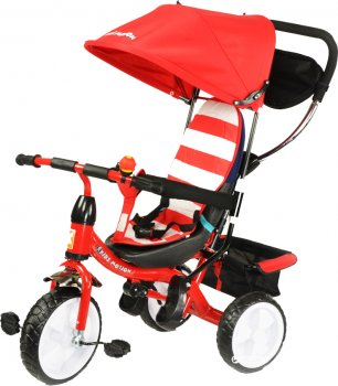 Велосипед трехколесный KidzMotion Tobi Junior Red (5905279567535) (115001/red)