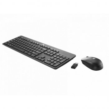 Комплект HP Slim Keyboard and Mouse Black (T6L04AA)