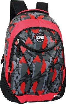 Рюкзак Cool For School 45х33х16 см 24 л Чорно-червоний (CF86496)