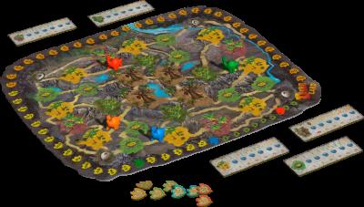 Настільна гра Bombat Game Dino Land (4820172800224) (0020)