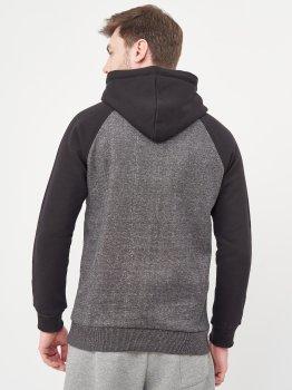 Худі Calvin Klein Jeans 10471 Темно-сіре