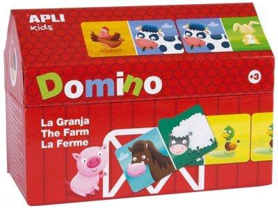 Детское домино ApliKids Ферма (8410782164937) (000016493)