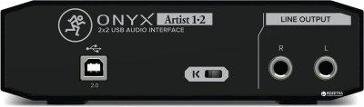 Аудіоінтерфейс Mackie Onyx Artist 1/2 (226457)
