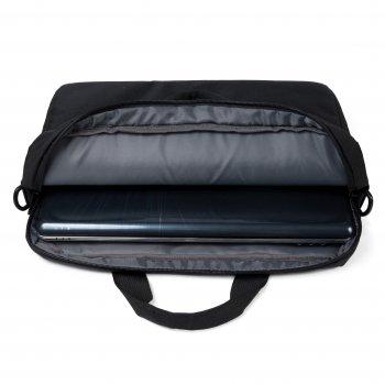 """Сумка для ноутбука D-Lex 16"""" Black (LX-121PR-BK)"""