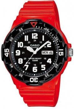 Наручний чоловічий годинник Casio MRW-200HC-4BVEF
