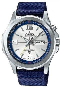 Наручний чоловічий годинник Casio MTP-E202-2AVDF