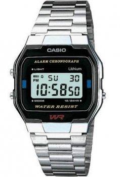 Наручний чоловічий годинник Casio A163WA-1QES