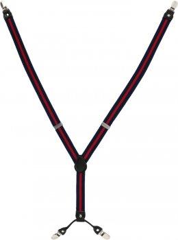 Подтяжки Trаum 8510-02 Синие с красным (8510-02)