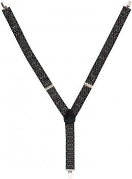 Подтяжки Trаum 8510-07 Черные с коричневым (8510-07)
