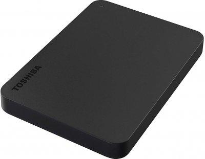 "Жорсткий диск Toshiba Canvio Basics 1ТБ 2.5"" USB 3.0 чорний (HDTB410EK3AA) Refurbished"