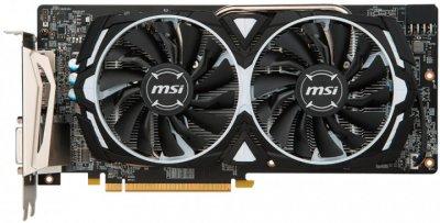 Відеокарта AMD Radeon RX 580 8Gb GDDR5 Armor OC MSI Radeon RX 580 ARMOR 8G OC