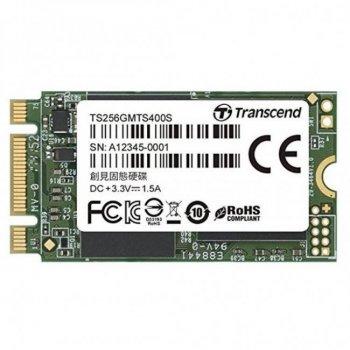 Накопичувач SSD M. 2 256GB Transcend (TS256GMTS400S)
