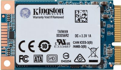Kingston SSD UV500 240GB mSATA SATAIII 3D NAND TLC (SUV500MS/240G)