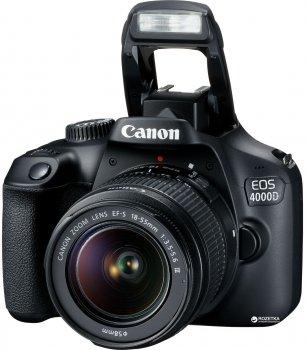 Фотоапарат Canon EOS 4000D BK 18-55 Офіційна гарантія! (3011C004AA)