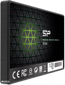 "Silicon Power S56 120GB 2.5"" SATAIII TLC (SP120GBSS3S56B25)"
