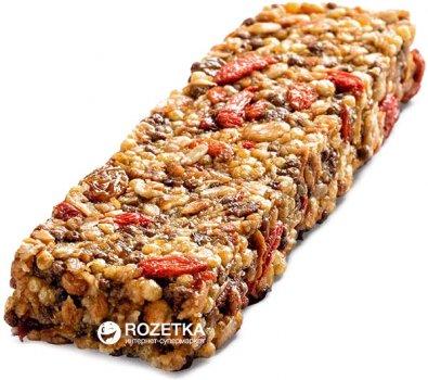 Упаковка батончиков гранола Oats&Honey Energy Bar Фруктовые + ягода годжи 40 г х 24 шт (4820013335328)