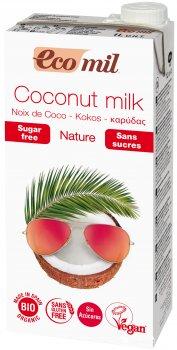Напиток растительный кокосовый Ecomil без сахара 1 л (8428532121437)