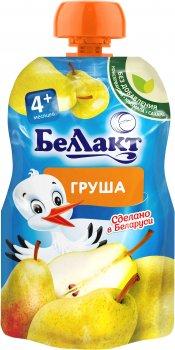 Упаковка дитячого пюре Беллакт Груша з 4 місяців 12 шт х 90 г (4814716002694)