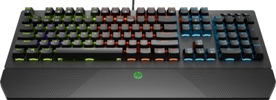 Клавіатура дротова HP Pavilion Gaming Keyboard 800 USB ENG Black (5JS06AA)