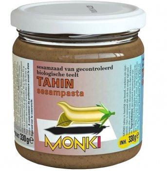 """Органическая кунжутная паста без глютена и лактозы """"Тахина"""", Monki, 330 гр"""
