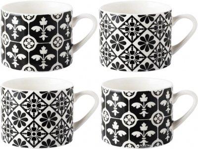 Набор чашек для эспрессо Creative Tops Encaustic Tiles 75 мл 4 шт (VA5174576)