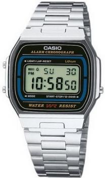 Чоловічі годинники Casio A164WA-1VES
