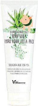 Маска увлажняющая с алоэ и коллагеном Elizavecca Milky Piggy Herb Soul Hydro Aqua Jella Pack 250 мл (8809418750093)