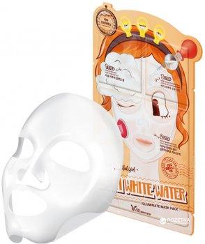 Трехступенчатая осветляющая и увлажняющая Маска Elizavecca Aqua White Water Illuminate Mask 25 мл (8809317960470)